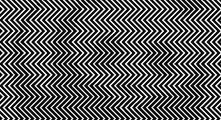 Most People Can't See What is Hiding in the Zigzag Lines….Can You