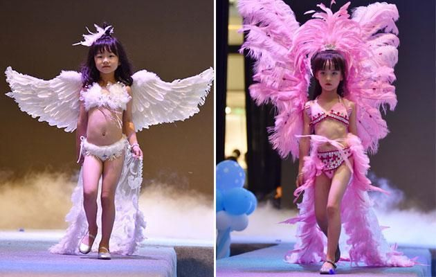 Mainstream Normalizes Pedophilia With 'Victoria Secret'-Style Lingerie Show Featuring 5 Year Old Girls