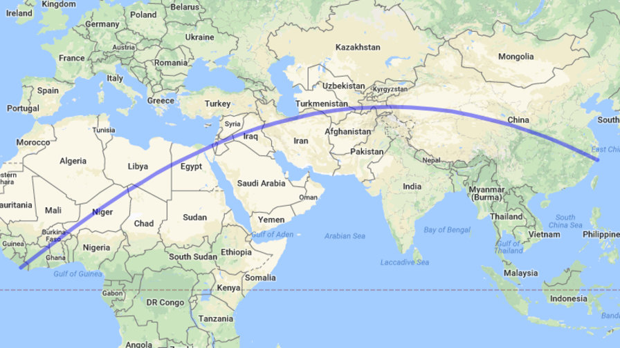 What Is The Longest Straight Line On Earth You Can Walk
