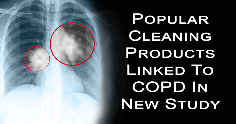 Popular Cleaning Products Linked To COPD In New Study
