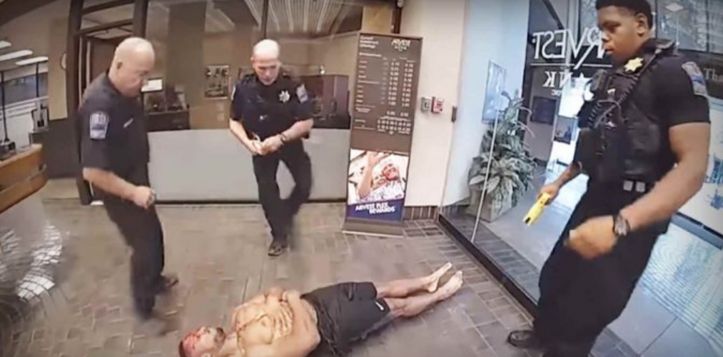 WATCH:Video released of Oklahoma cops repeatedly tasering