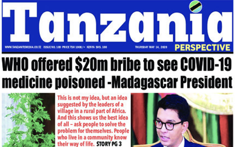 Madagascar-President-Claims-WHO-Offered-20M-Bribe-to-Poison-COVID-19-Cure