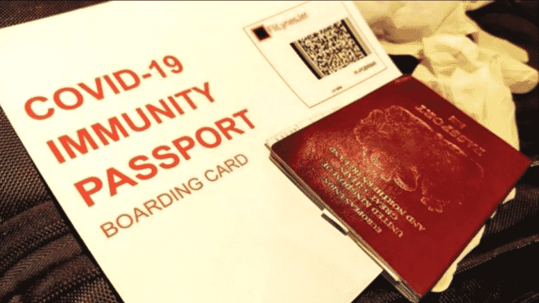 It-Begins-COVID-Passport-Trials-On-United-Airlines-In-UK