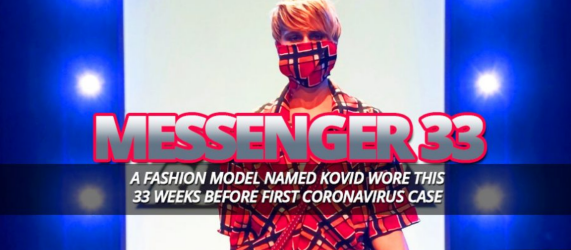 In-2019-A-Fashion-Model-On-Project-Runway-Named-Kovid-Kapoor-Designed-A-Mask-33-Weeks-And-3-Days-Before-First-COVID-19-Case-Appeared-•-Now-The-End-Begins
